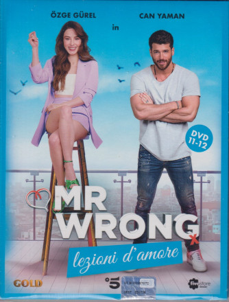 Mr Wrong - Lezioni d'amore - n. 23-  sesta  uscita  - 2 dvd + booklet - 25 settembre  2021   - settimanale