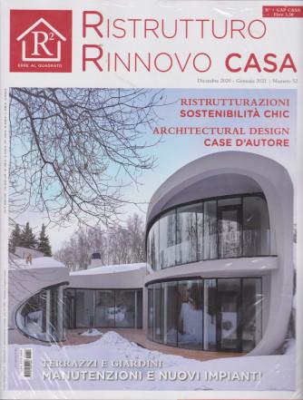 R2 Erre al Quadrato+ - Gap Casa - n. 52 - dicembre 2020 - gennaio 2021 - mensile - 2 riviste