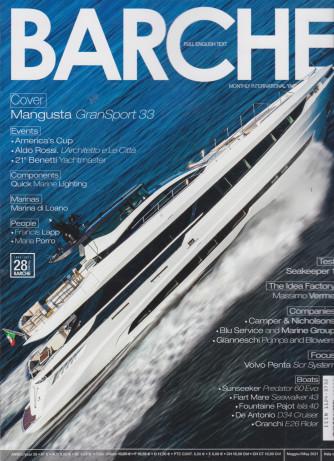 Barche - n. 5  - mensile -maggio  2021 - italiano - inglese