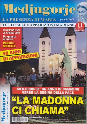 Medjugorje - La presenza di Maria - n. 1 - mensile - gennaio 2021
