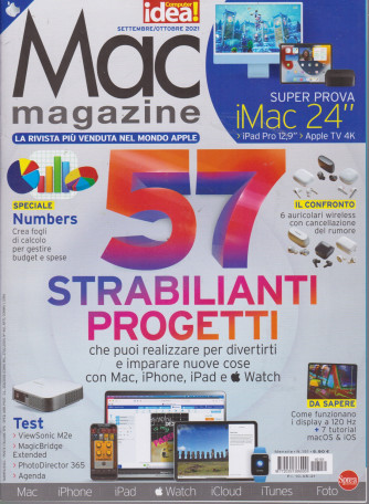 Mac magazine - n. 151 - mensile -settembre - ottobre 2021