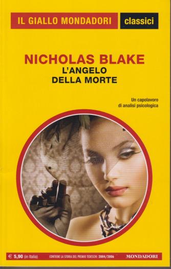 Il giallo Mondadori - classici - Nicholas Blake - L'angelo della  morte - n. 1448- mensile   -201   pagine
