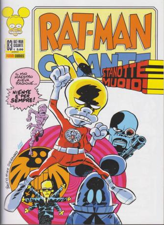 Rat-Man Gigante - n. 83 - mensile - 31 dicembre 2020