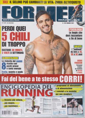 For men magazine - mensile n. 220-  giugno 2021 + Enciclopedia del running - 2 riviste