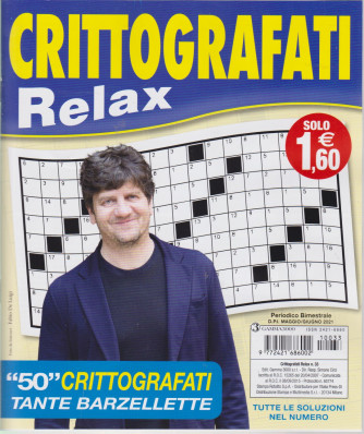 Crittografati Relax - n. 33 - bimestrale -maggio - giugno  2021