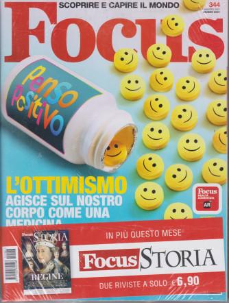 Focus + Focus Storia -    n. 344 -giugno  2021- mensile - 2 riviste