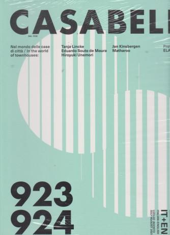Casabella - n. 923/924 - luglio - agosto 2021 - italian - english