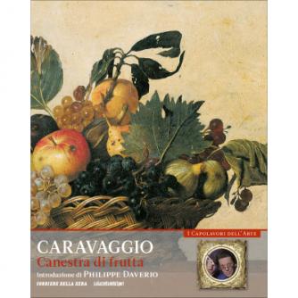 I capolavori dell'arte - Caravaggio - Canestra di frutta - n. 2 - settimanale -