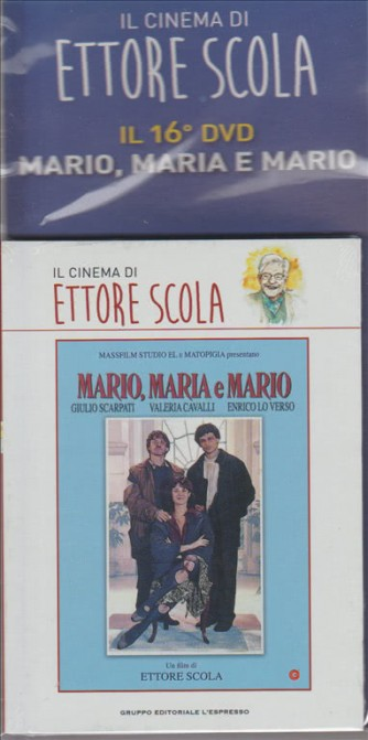 IL CINEMA DI ETTORE SCOLA. IL 16° DVD . MARIO, MARIA E MARIO.