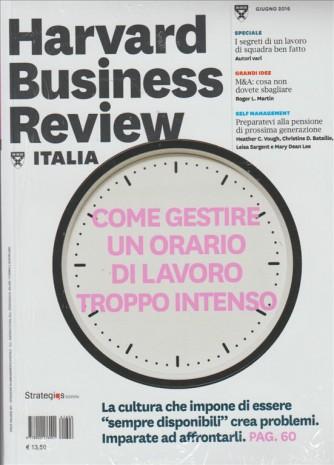 HARVARD BUSINESS REVIEW ITALIA. N. 6. GIUGNO 2016.