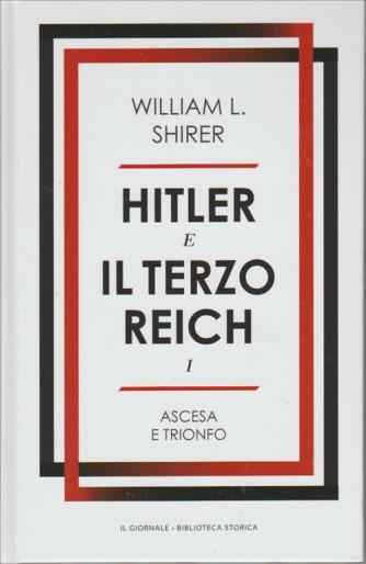 """HITLER e il Terzo Reich  vol. 1 """"Ascesa e trionfo"""" di William L. SHIRER"""