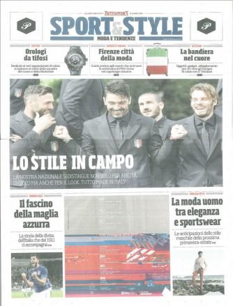 """inserto Tuttosport del 12 Giugno 2016 """"Sport & Style: Moda e tendenze"""""""