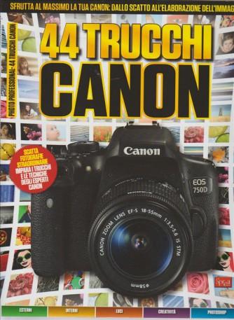 PROFESSIONAL PHOTO SPECIALE SUPER N. 9. BIMESTRALE . 44 TRUCCHI CANON.