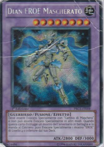 Dian EROE Mascherato - Yu-Gi-Oh! - Konami