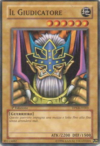 Il Giudicatore - Yu-Gi-Oh! - Konami
