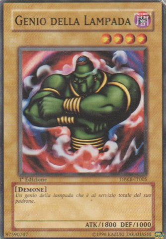 Genio della Lampada - Yu-Gi-Oh! - Konami