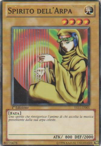 Spirito dell'Arpa - Yu-Gi-Oh! - Konami