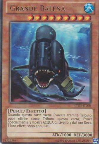 Grande Balena - Yu-Gi-Oh! - Konami