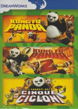 KUNG FU PANDA 2. I SEGRETI DEI CINQUE CICLONI. LE PRIME AVVENTURE DI PO. COFANETTO 3 DVD.