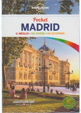 Guida Lonely Planet pocket - MADRID by Gazzetta dello Sport