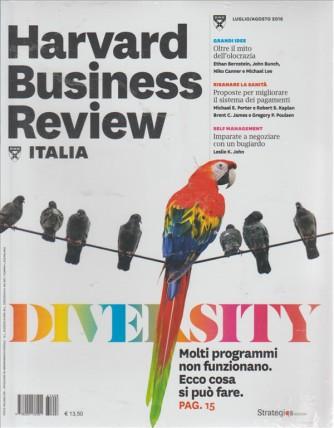 HARVARD BUSINESS REVIEW ITALIA. N. 7/8 LUGLIO/AGOSTO 2016.