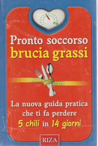 PRONTO SOCCORSO BRUCIAGRASSI.   N. 58.  2016.