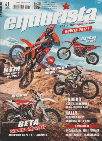 ENDURISTA Magazine - Bimestrale n. 41 Luglio/Agosto 2016