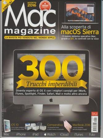 "MAC MAGAZINE - MENSILE N. 94 AGOSTO 2016 ""300 trucchi inperdibili"