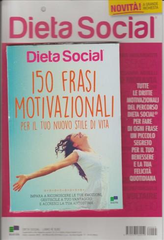 """Dieta Social  """"150 frasi motivazionali per il tuo nuovo stile di vita"""""""