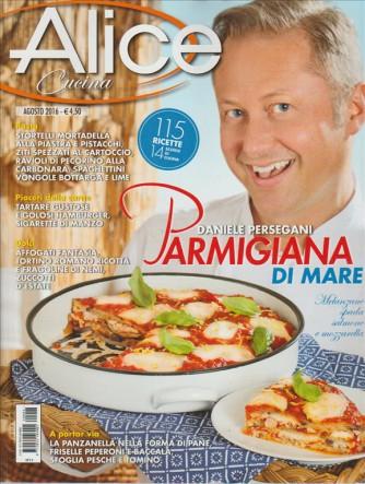 ALICE Cucina  mensile n. 8 Agosto 2016