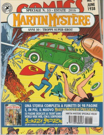 Martin Mystere Speciale n.33 Estate 2016 - Anni 30: Troppi Super-Eroi!