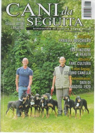 Cani Da Seguita - BIMESTRALE DI CULTURA SEGUGISTICA n. 63 Agosto 2016