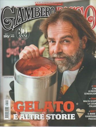 """Gambero Rosso mensile n. 295 Agosto 2016 """"Gelato e altre storie"""""""