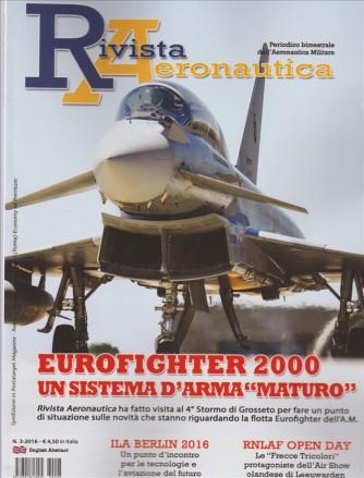 Rivista Aeronautica - bimestrale n. 3 Agosto 2016