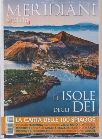 """Meridiani  mensile n. 232 Agosto 2016 """"Sicilia"""" le isole degli Dei"""