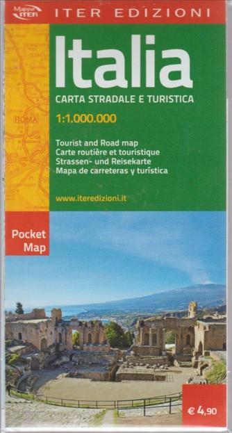 ITALIA. CARTA STRADALE E TURISTICA. 1:1.000.000