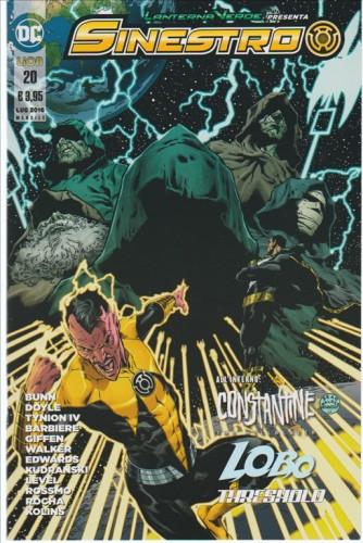 LANTERNA VERDE PRESENTA: SINESTRO #20 - DC Comics Lion