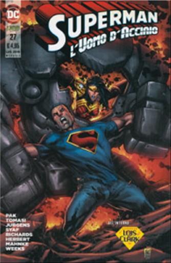 SUPERMAN L'UOMO D'ACCIAIO #27 - DC Comics Lion