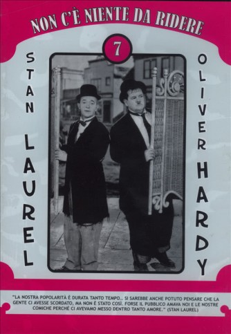 Stanlio & Ollio - Non c'è niente da ridere 7 (DVD)