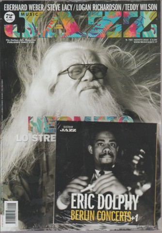MUSICA JAZZ. N. 789. AGOSTO 2016.