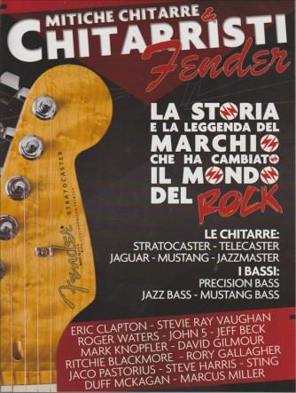 MITICHE CHITARRE & CHITARRISTI FENDER. N. 6. BIMESTRALE.  MUSIC HERO MEGA.