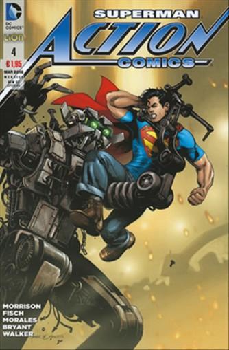 New 52 Special – Action Comics 04 - DC Comics Lion