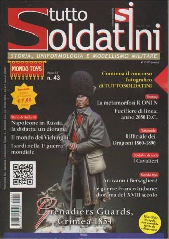TUTTO SOLDATINI. N. 43. TRIMESTRALE