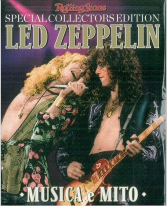 LED ZEPPELIN musica e mito - Special Collector edition by Rolling Stone Magazine