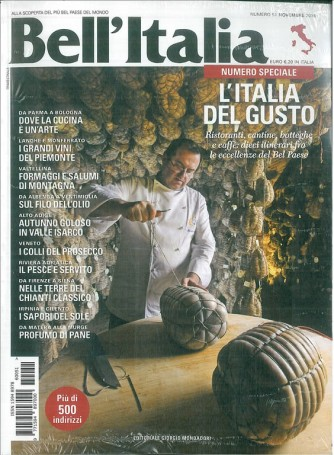 Bell'ITALIA magazine mensile n. 51 Novembre 2016