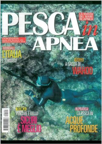Pesca In Apnea Speciale - bimestrale n. 141 Ottobre/Novembre 016