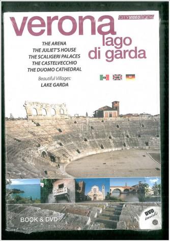 City video book VERONA e lago di Gardacon DVD e libro