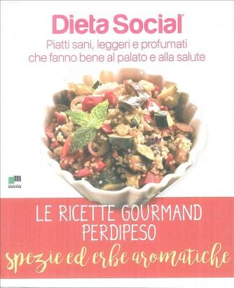 """DIETA SOCIAL le ricette Gourmand perdipeso """"Spezie ed erbe aromatiche"""""""