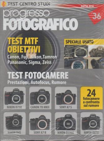 Progresso Fotografic n. 36 serie Oro - Test MTF obiettivi