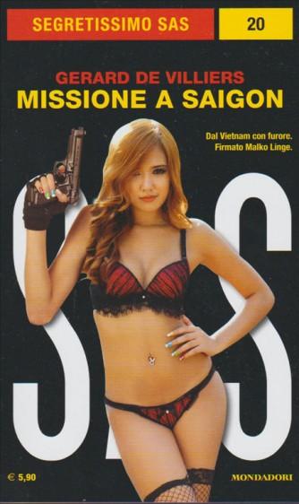 Missione a saigon di Gerard de Villiers collano Segretissimo SAS n.20